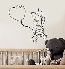 Wall Stickers Vinyl Decal Winnie The Pooh Cartoon Piglet Kids Baby Room (ig1040)