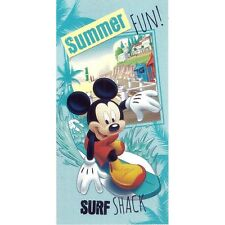 """Serviette de plage Drap de bain Mickey """"surf"""" strandtuch beach towel coton"""