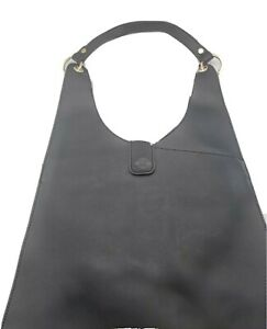 New Faux Leather Hobo Bag - Black*