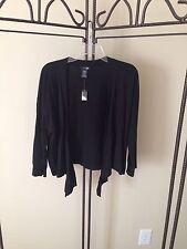 NWT EAST 5TH Ladies Sweater/Fly away Sz XL Black