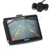 "XGODY 7"" 718 GPS Navigation Bluetooth SAT NAV UK EU Maps Wireless Reverse Camera"