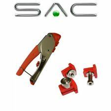 More details for sac snap-seal triple f, bnc, rca 3 in 1 crimp tool for rg6, rg59 cables c2004