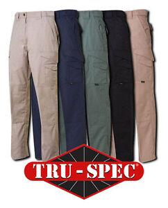 Tru-Spec 24-7 Series Tactical Uniform Rip-Stop Pants All Colors & Sizes
