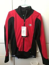 SUGOI Cycling Men's Red Black Zip Top Jersey Jacket Top-S/P-NWT$119