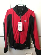 SUGOI Cycling Ladies Red Black Zip Top Jersey Jacket Top-S/P-NWT$119