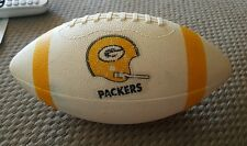 VINTAGE 1970S GREEN BAY PACKERS MINI 8 INCH FOOTBALL.