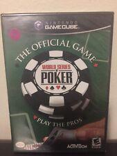Brand New Factory Sealed World Series Of Poker Nintendo GameCube