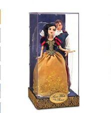 Disney Fairytale Princess Snow White Prince Designer Doll Couple LE 6000