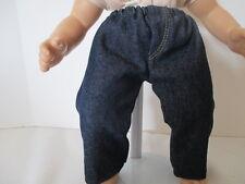 """Dark denim jeans for 15"""" doll"""