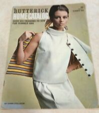 Vintage Butterick Home Catalog Summer 1966