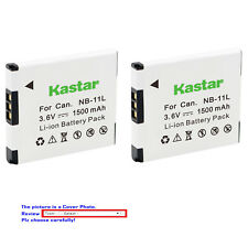 Kastar Battery for Canon NB-11L PowerShot A2300 A2400 A3400 A4000 IS A4000 A4050