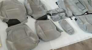 2002-200 Toyota Camry LE/SE OEM Factory Cloth Seat Cover Set Gray