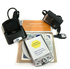 New Hewlett-Packard Hp iPaq H2210 Series Pocket Pc with Charger & Case