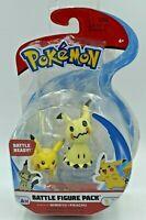 Pokemon Mimikyu & Pikachu Battle Figure Pack 2 Inch Character Figures Seal Pack