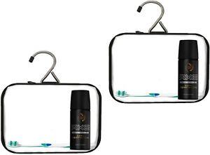Kulturbeutel transparent Kulturtasche durchsichtig Kosmetiktasche Flüssigkeiten