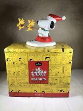 2000 Hallmark Peanuts Gallery Jolly Holidays Snoopy Figurine Numbered Limited Ed