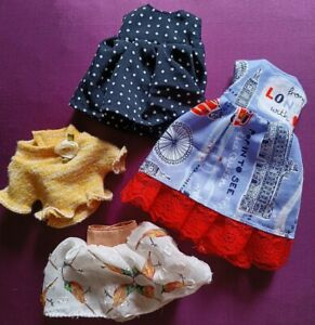 Custom Blythe Doll Clothing Lot Handmade