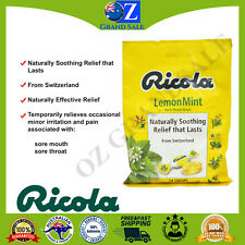 Ricola Original Cough Drops Lemon Mint Cough Relief Genuine 24 Drops