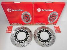 Brembo Bremsscheiben Bremse vorne komplett Yamaha YZF-R6 600 RJ09 RJ11 RJ15