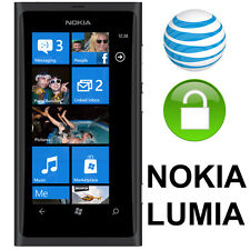 Factory UNLOCK SERVICE/CODE FOR AT&T Nokia Lumia series Clear IMEI