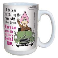 Aunty Acid Bad Good Drivers Mug NEW Large 18 oz Share the Road Behind Me