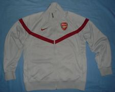"ARSENAL FC / 2010's - NIKE - MENS ""The Eugene"" grey Track top / Jacket. Size: L"