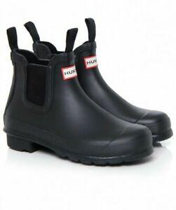 Hunter Women's Original Chelsea Ankle Rain Boots - Black