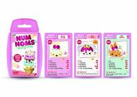 New Sealed TOP TRUMPS NUM NOMS CARD GAME Family Kids Travel Holiday Play Gift UK