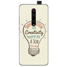 Funda Gel Tpu para Xiaomi Mi 9T / Mi 9T Pro diseño Creativity Dibujos