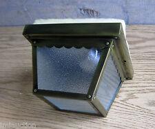 Progress p5782-11 Single 60 Watt Ceiling Car Port Light Fixture Antique Brass