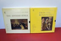 FROM THE RENAISSANCE + THE SPANISH STYLE LP BOX 4 SET RECORD ALBUM 2 SETS NEW