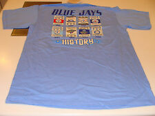 2012 Toronto Blue Jays MLB Baseball L Tee T Shirt History Tickets Cooperstown