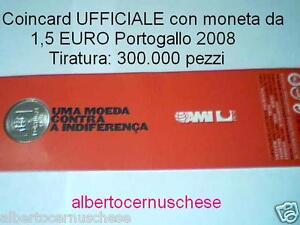 1,5 euro 2008 Portogallo AMI Indiferença Portugal