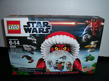NISB New Sealed 2012 LEGO Star Wars Advent Calendar 9509