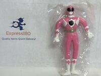 "(OG) Mighty Morphin POWER RANGERS 5"" Bendable Pink Henry Gordy 1994 New!"