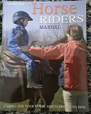 Horse Riders Manual Mini Handbook by Amanda Lang (Paperback, 2007)