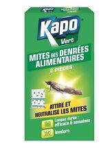 2 PIEGES A MITES ALIMENTAIRES KAPO attire et capture les mites