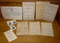 1930s & 1950s School Report Cards With More- Keller - Shoemakersville Windsor PA