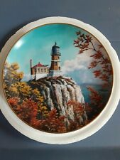 Split Rock Light Lighthouses Of America Danbury Mint Duluth Minnesota Plate