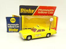 Dinky Toys GB 1/36 - Plymouth Gran Fury Yellow Cab Taxi