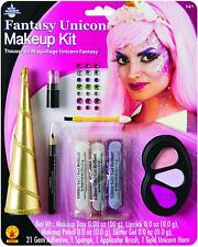 Fantasy Unicorn Makeup Kit Fancy Dress Up Halloween Adult Costume Accessory