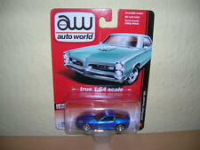 AW Auto World 2012 Chevy Corvette Z06 azul azul, 1:64