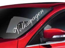 Car Window Sticker- VOLKSWAGEN - Fun VW Car Van Sticker
