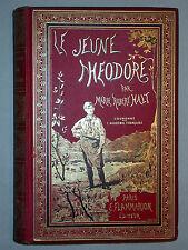 Jeune théodore de Halt Cartonnage percaline couleurs - Flammarion Lecture Enfant