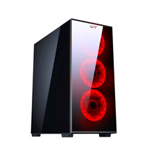 CASE GAMING ATX PER PC CTESPORTS LINX USB 3.0 NERO PENNELLO ANTERIORE E LATERIAL