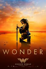 Wonder Woman Original D/S Beach Rolled Movie Poster 27 x 40 NEW 2017 Gal Gadot