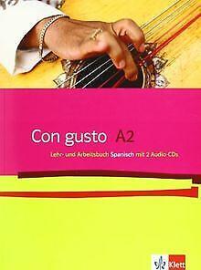 Con gusto. Lehr- und Arbeitsbuch mit 2 Audio-CDs - A2 vo...   Buch   Zustand gut