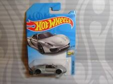 Voitures miniatures argentés Porsche