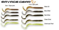 Savage Gear Rib Worm Fishing Lure 10psc or 8pcs / 9 - 11cm Various Colours
