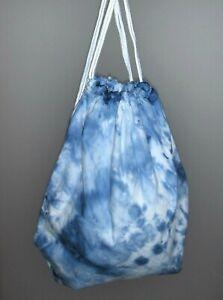 New Tie Dye Drawstring Backpack Bag Books Overnight Dance Beach Gaming Tye Die